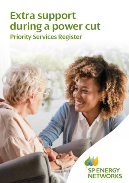 View the Priority Services leaflet