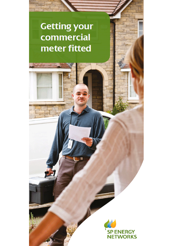 View the Getting Your Commercial Meter Fitted leaflet