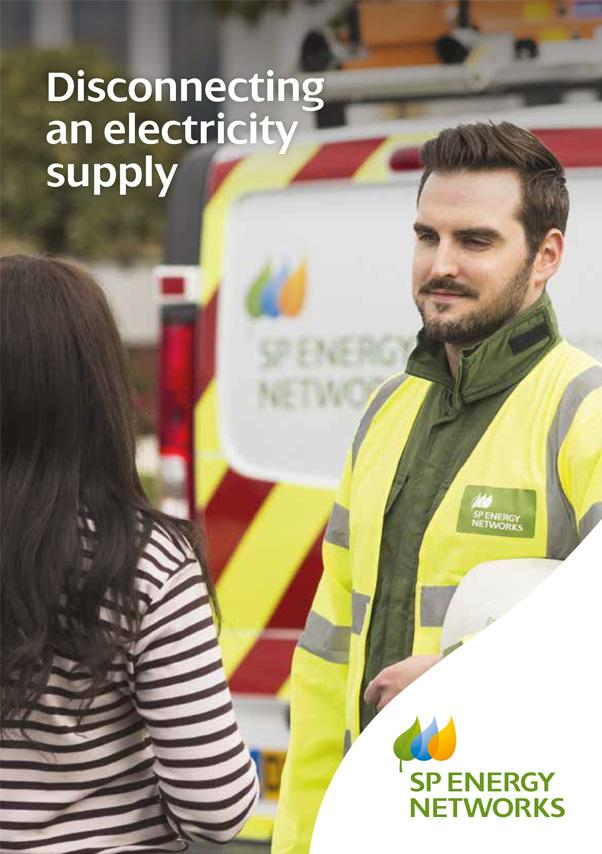 View the Disconnecting an Electricity Supply leaflet