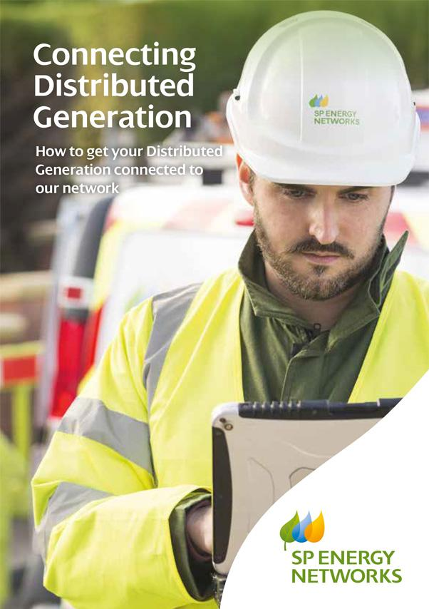 View the Connecting Distributed Generation leaflet