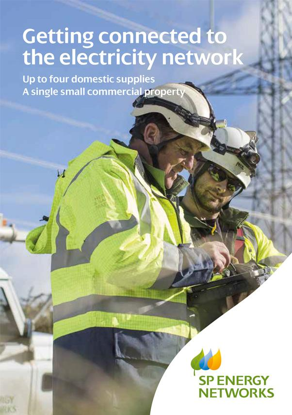 View the Getting Connected to the Electricity Network leaflet